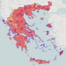 Πληθυσμός Ελλάδας ανά Καλλικρατικό Δήμο - Βασίλης Σαμαριτάκης