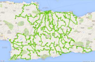 Land cover/use statistics (LUCAS) 2015 σε 163 σημεία του νομού Ηρακλείου
